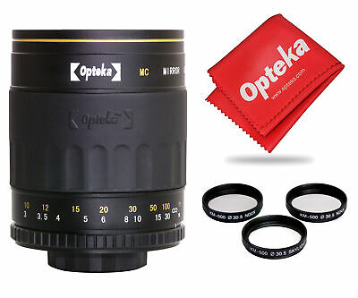 Opteka 500mm f/8 High Definition Telephoto Mirror Lens for Canon EOS 80D, 77D,