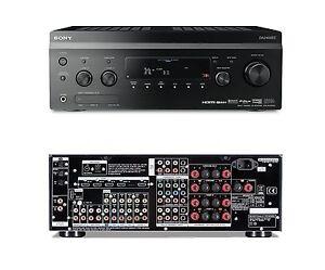 Sony STR-DA2400ES 7.1 AV HD Receiver Amplifier 5x HDMI Black Amp STRDA2400ES