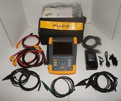 Fluke 435-ii Series Ii Power Quality Energy Analyzer Used