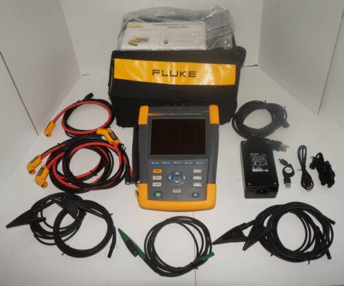 FLUKE 435-II SERIES II POWER QUALITY & ENERGY ANALYZER USED