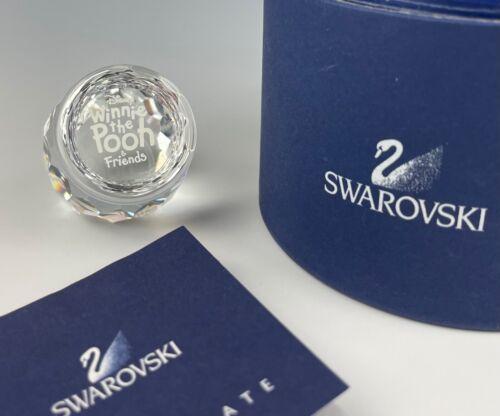 SWAROVSKI DISNEY WINNIE THE POOH HONEY POT PLAQUE NEW IN BOX!!