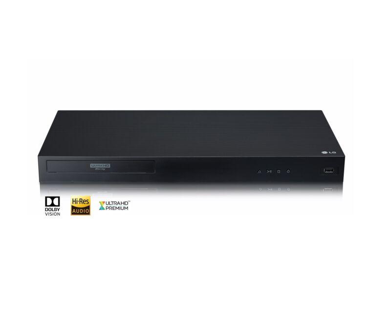 LG UBKM9 Streaming 4k Ultra Hd Audio Blu-ray With Dolby Vision, Black