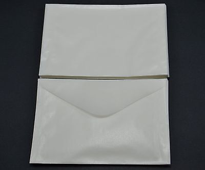"lot of 100 # 4.5 GLASSINE ENVELOPES 3 1/8 x 5 1/16"" GUARDHOUSE STAMP COLLECTING"
