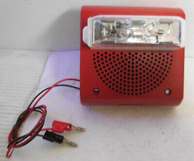 Wheelock Et70wp-24185w Fire Alarm Speaker Strobe Wall Mount
