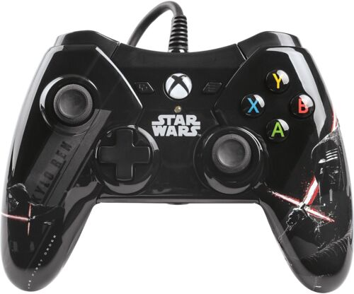 Power A Star Wars: The Force Awakens Kylo Ren Wired Controller for Xbox One Black/White/Red 1423254-01