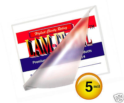 Lam-it-all 5 Mil Hot 12x18 Menu Laminating Pouches 12 X 18 100 For 11x17 Sheet