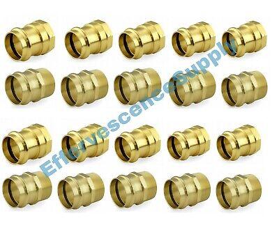 Lot Of 20 12 Propress Male Female Adapters - Propress Brass Fittings