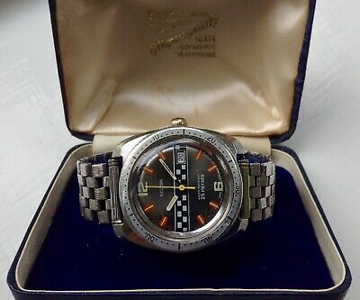 Vintage Rare Kelton/Timex F1 Rally, cal.25, racing ,divers style watch, 1976