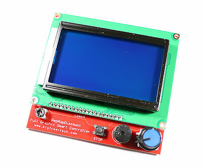 Display-kit Mit 12864 Lcd Und Controller Fr Ramps 1.4 3d Drucker Prusa Mendel