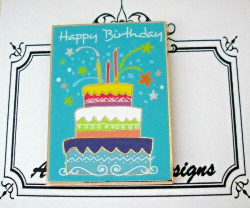 Needle Minder Magnet Happy Birthday Cake Accoutrement Designs Needlepoint