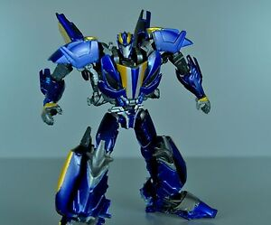 transformers custom transformers prime beast hunters blue