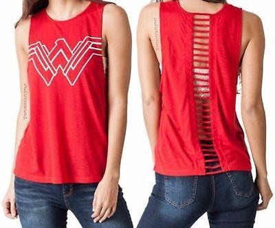 Wonder Woman Costume Movie (NEW LICENSED ~DC COMICS~ WONDER WOMAN MOVIE COSTUME COSPLAY DASH BACK TANK)