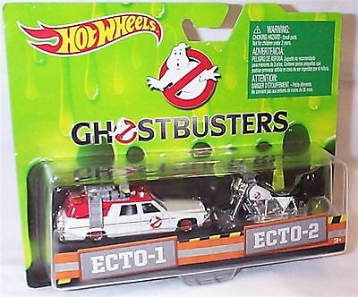 Ghostbusters Ecto-1 & Ecto 2 Bike 1-64 scale new in packet