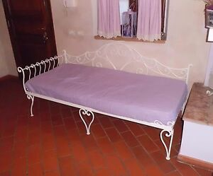 Divano letto in ferro battuto realizzazioni for Divano letto in ferro battuto ikea