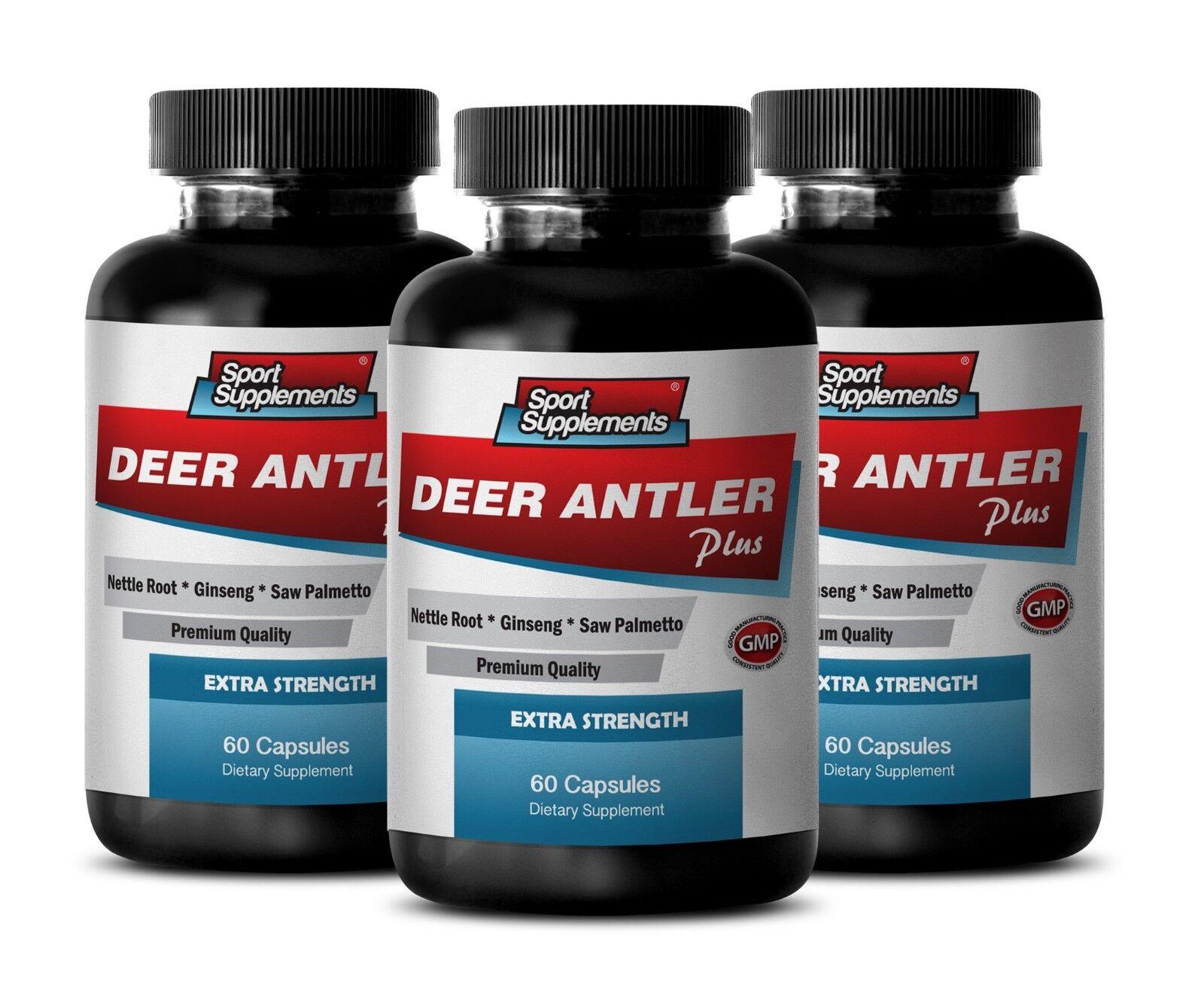 Immune Support Packets - Deer Antler Plus 550mg 3b - Elk ...
