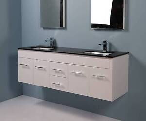 FACTORY CLEARANCE!! Budget 1.5 meter (1500mm) White Vanity Mulgrave Monash Area Preview