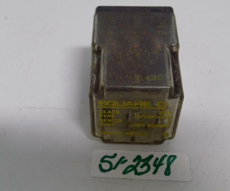 SQUARE D CUBE RELAY 8501 KP13P14V20