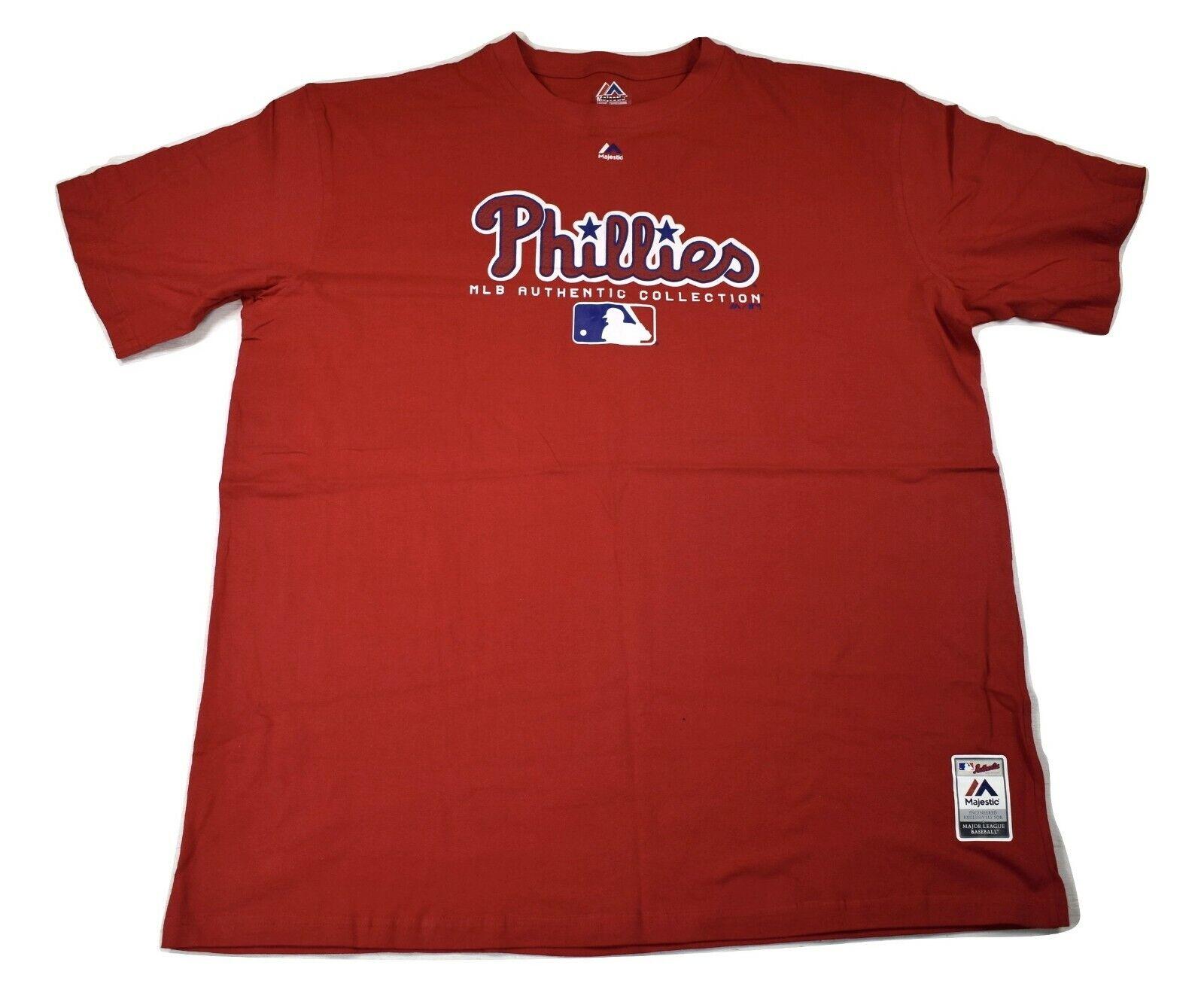 Majestic Big & Tall Mens MLB Philadelphia Phillies Baseball