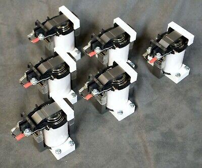 "6 each Virtual Pinball DOF Force Fdbck 24VDC Contactor Solenoid ""ThunderClap"""