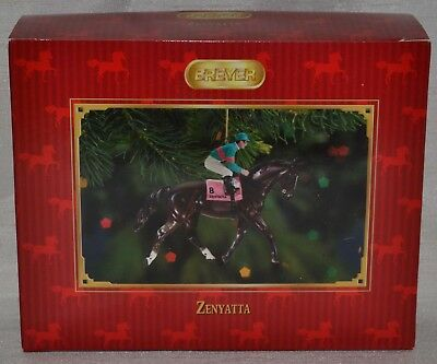 Breyer~Christmas~Zenyatta~Race Horse~Racing~Holiday Ornament~NIB