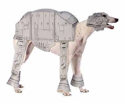 Dog Walker Halloween Costume (Rubies Star Wars AT-AT Imperial Walker Dog Pet Halloween Costume)