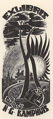 Ex Libris Cor de Wolff : Opus 26a, H.G. Kamphuis