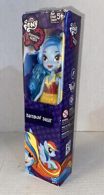 "My Little Pony Equestria Girls RAINBOW DASH 9"" Doll - 2014 Hasbro - New in Box"