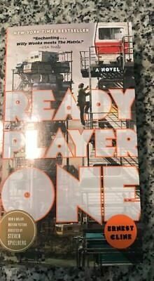 Ready Player One Paperback Book     978 0307887443   Spielberg New