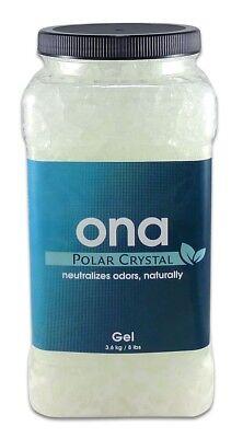 Ona Polar Crystal Gel 1 Gallon 4L  Eliminate Odor Control Neutralizing Clean Polar Crystal Gallon