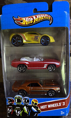 Hot Wheels 3 Pack Of Cars