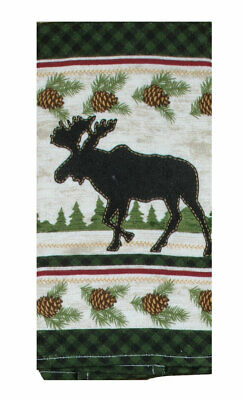 Kay Dee Designs WOODLAND MOOSE Cotton Terry Towel