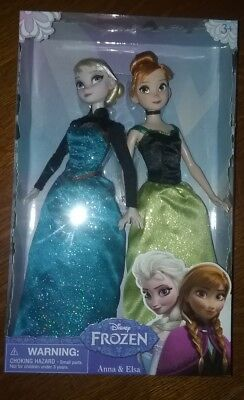 Disney Frozen Anna and Elsa Dolls New in Box - Disney Store JCPenny Anna Elsa