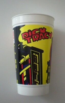 "Vintage Dick Tracy ""The Kid"" Plastic Collector Cup"