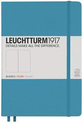 New Leuchtturm1917 A5 Journal Hardcover Plain Blank Notebook-nordic Blue