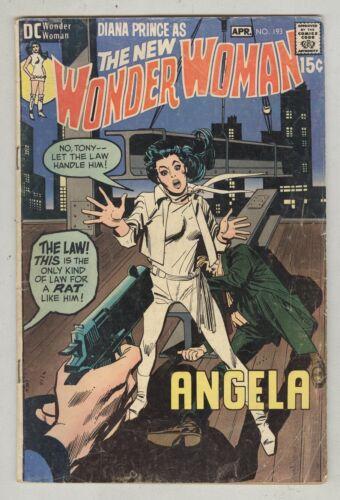 Wonder Woman #193 April 1971 G/VG Angela