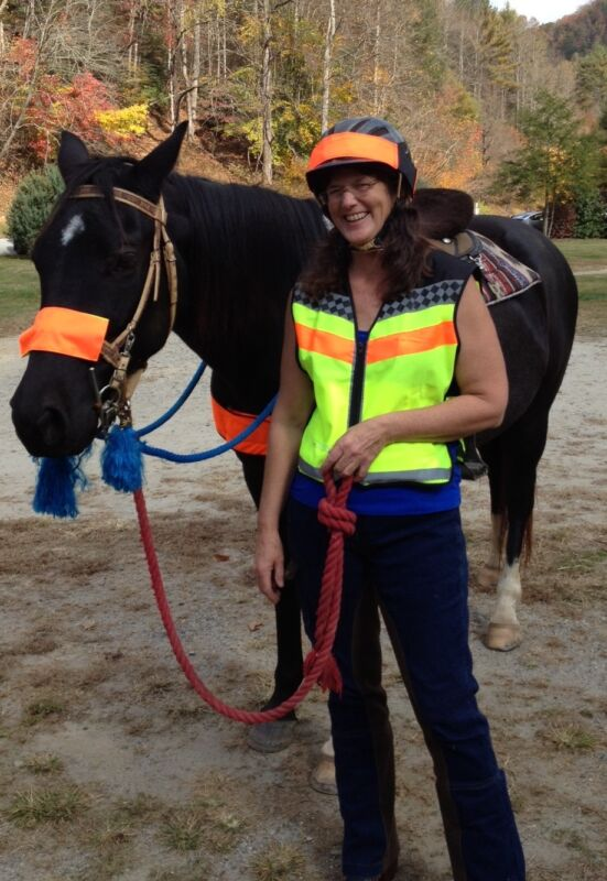 Road and Trail Hi Viz Safety Helmet Cover - BLAZE ORANGE - reversible!