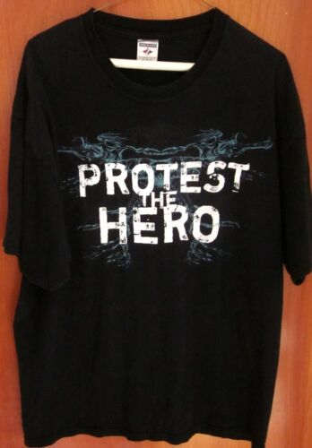 PROTEST THE HERO Canada prog-rock XL tee metal band Whitby T shirt Ontario