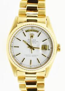 mens gold rolex wristwatches men s gold presidential rolex