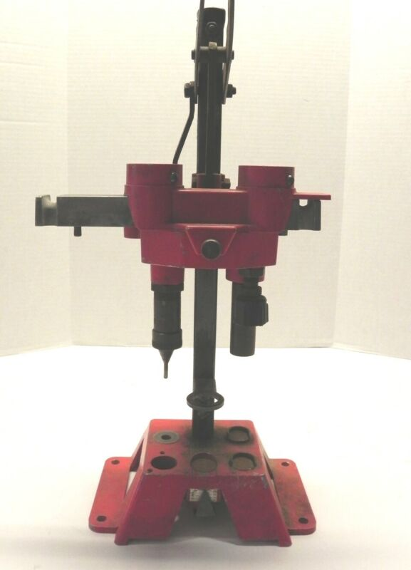 VINTAGE PACIFIC 12 GAUGE RELOADING PRESS PACIFIC #CL-155 RED AND BLACK USED