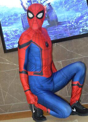 Adult/Kids Civil War Spiderman Costume 3D Shade Spandex Fullbody Cosplay Suit - Spiderman Civil War Costume