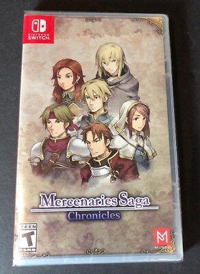 Mercenaries Saga Chronicles (Nintendo Switch) NEW