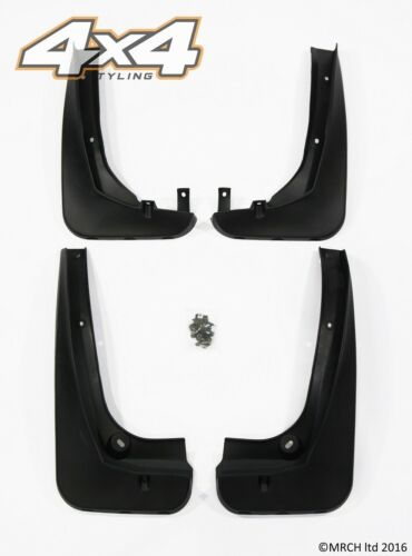 For BMW X3 F25 2010+ Mud Flaps Guards Set (4 pieces)