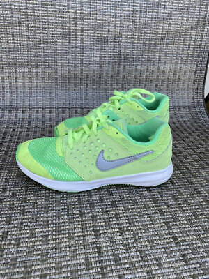 Boys Nike Downshifter 7 Shoes Sz. 12.5c Neon Green