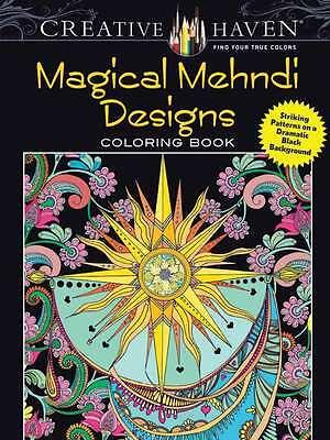 Dover Publications Magical Mehndi Coloring Book