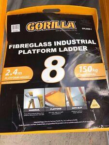 Fibreglass platform ladder Beverly Hills Hurstville Area Preview