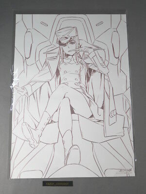 Official Limited Exclusive  Darling In The Franxx Zero Two A3 Poster Print