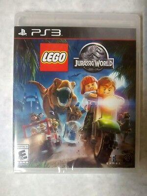 New  Sealed Lego Jurassic World  Sony Playstation 3  2015