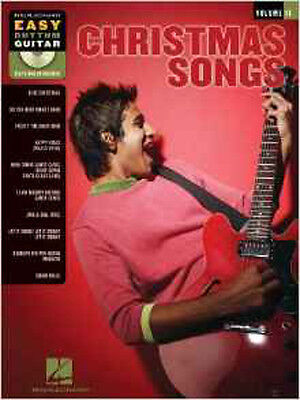 Christmas Songs  Easy Rhythm Guitar Tab Book/Cd: 11 (Easy Rhythm Guitar Series), Easy Rhythm Guitar Books
