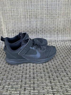 Boys Nike Downshifter 9 Shoes Sz. 1y Black