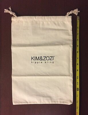 "New KIM & ZOZI 14.5"" X 10"" Dust Travel Storage Bag"